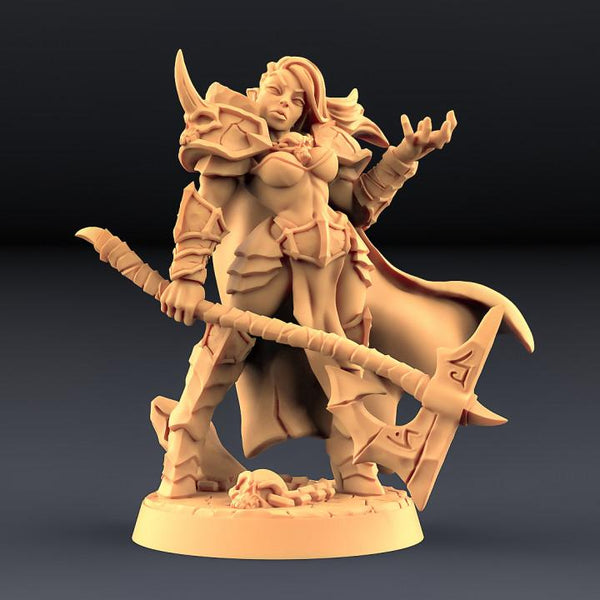Diabolica the Eternal - Abyss Demon Hero (Hidden Form) - OTP Terrain & Miniatures Off The Print Gaming