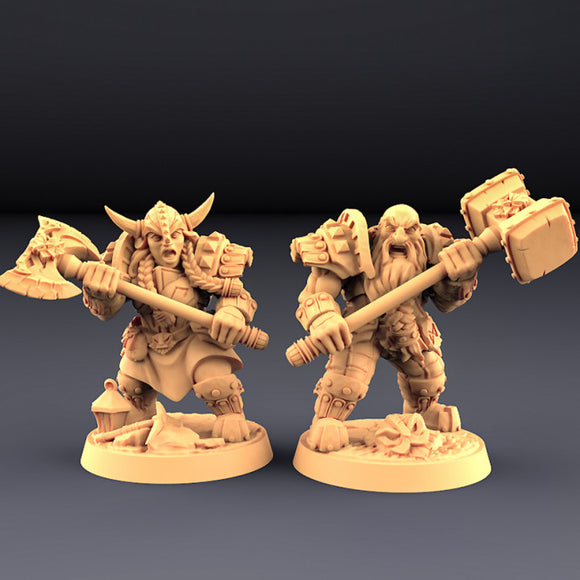 Dwarven Two-Handed Specialists - Unit Set