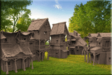 Land Village Ultimate Collection Set - OTP Terrain & Miniatures Off The Print Gaming