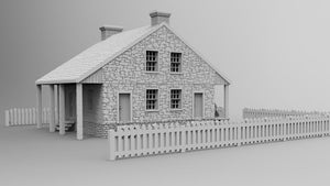 General Lee´s Headquarter at Gettysburg with Fence