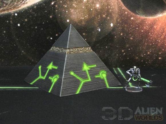 NECRO-NITE Pyramid Small - OTP Terrain & Miniatures Off The Print Gaming