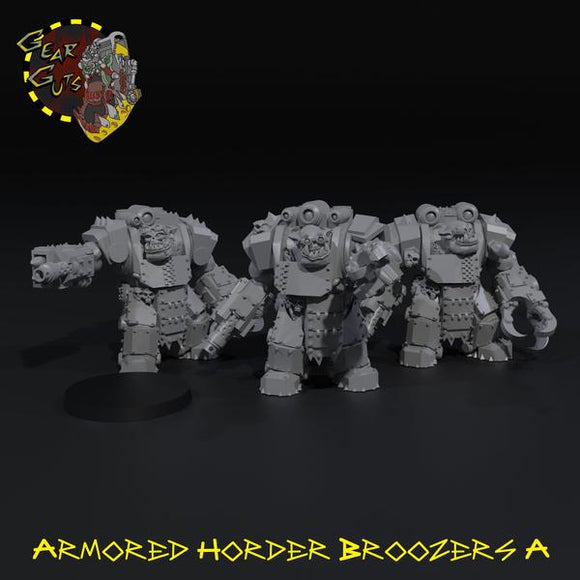 Armored Horder Broozers x3 - A
