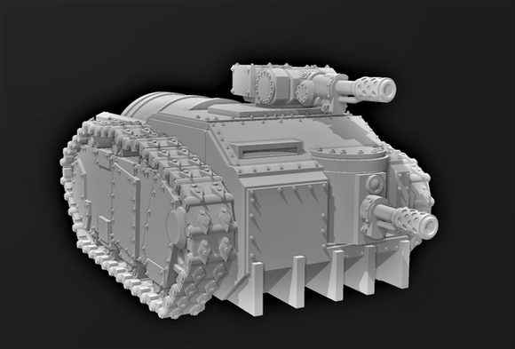 BBQ Tank - OTP Terrain & Miniatures Off The Print Gaming