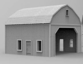 Barn Curved Roof