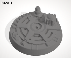 Set of 10 x 100mm Bases-[40KTerrain]-[Fantasyterrain]-[3DPrintedTerrain]-[Wargaming]-[Tabletopgaming]-OTP Terrain Off The Print Gaming