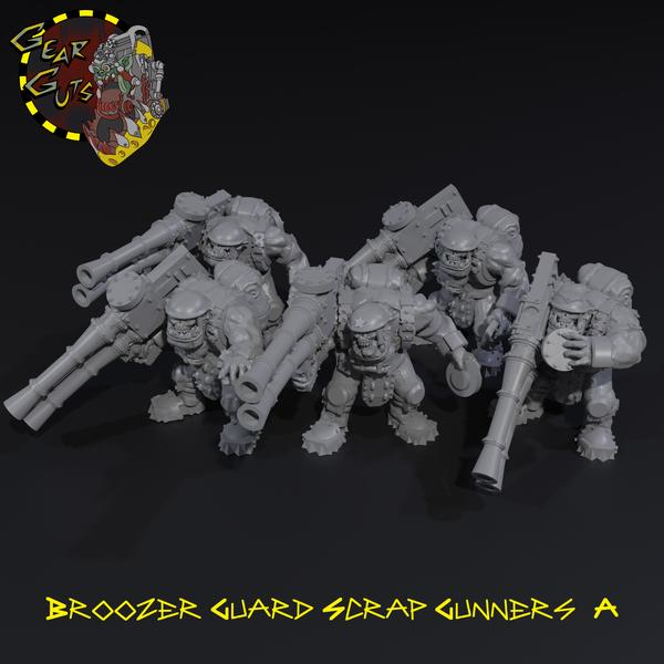 Broozer Guard Scrap Gunners x5 - A