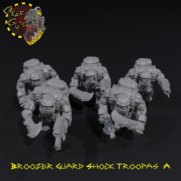 Broozer Guard Shock Troopas x5 - A