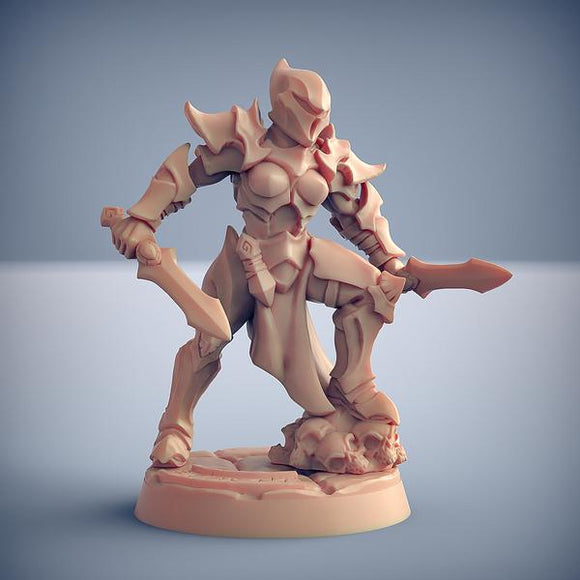 Ashen Inquisitor #C with Helmet - OTP Terrain & Miniatures Off The Print Gaming