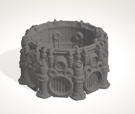 Cauldron-[40KTerrain]-[Fantasyterrain]-[3DPrintedTerrain]-[Wargaming]-[Tabletopgaming]-OTP Terrain Off The Print Gaming