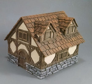 Ravens Hollow Single Cottage With Multi Roofs
