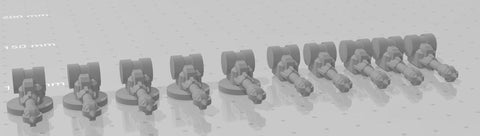 Gaslands Weapon Sets Harpoons on Turrets