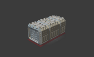 6mm Orbital Shipping Container Closed