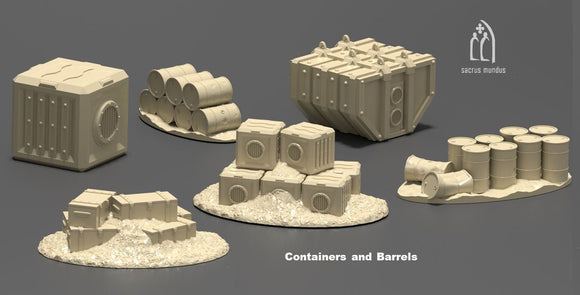 Factory Scatter Set - OTP Terrain & Miniatures Off The Print Gaming