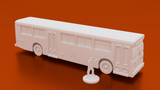 Urban City Bus - OTP Terrain & Miniatures Off The Print Gaming