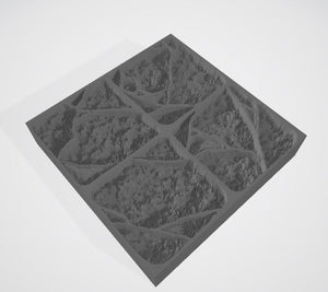 DUNGEON FLOOR SMASHED STAMP