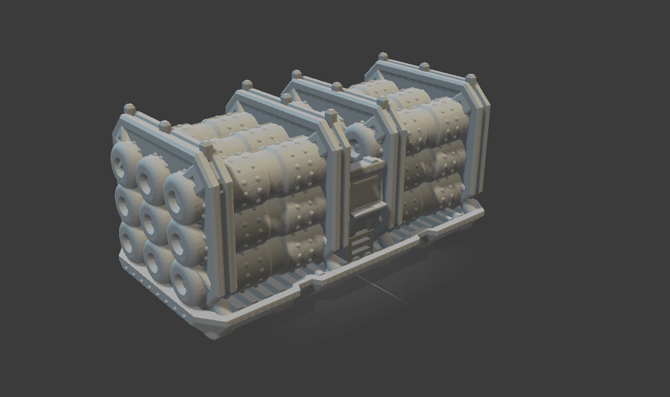6mm Orbital Shipping Fuel Containers