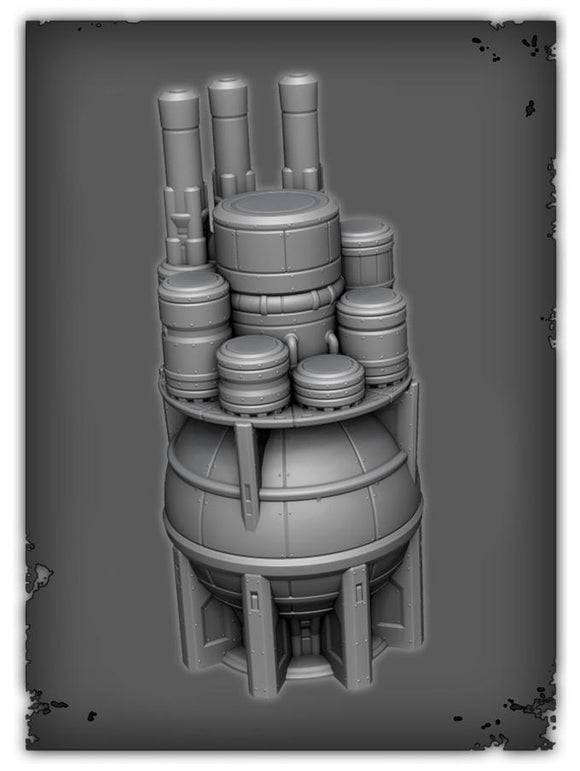 Fuel Storage Station - OTP Terrain & Miniatures Off The Print Gaming