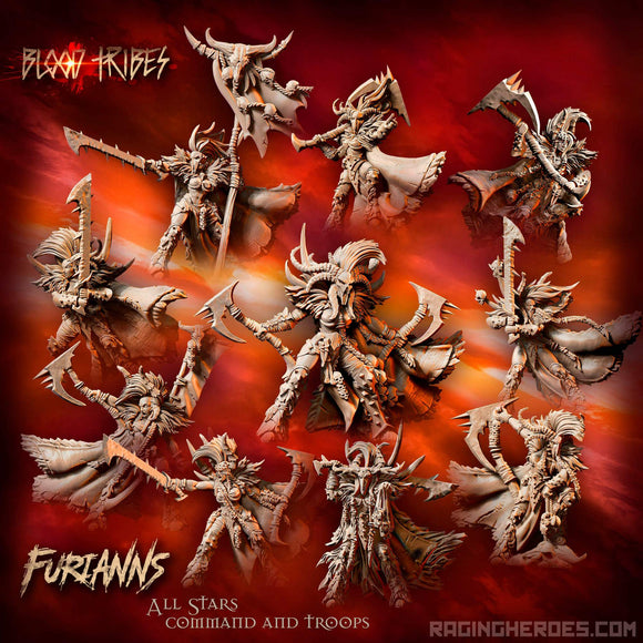 Furianns All-Stars - All 10 Miniatures Box Set