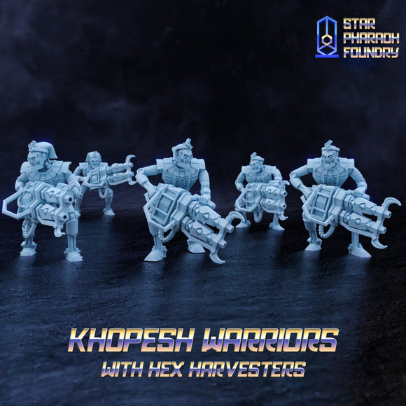 Khopesh Warriors - x5