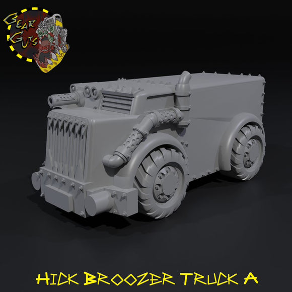 Hick Broozer Truck A