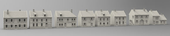 Bohemian - Saxon -Silesia Houses Individual or Full Set