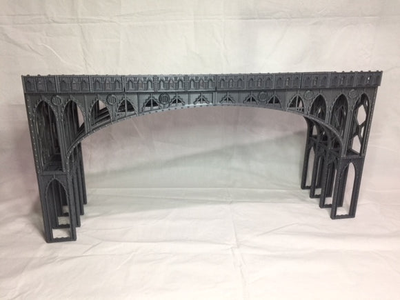 LARGE & SMALL BRIDGE SET 2 SIDE BARRICADES-[40KTerrain]-[Fantasyterrain]-[3DPrintedTerrain]-[Wargaming]-[Tabletopgaming]-OTP Terrain Off The Print Gaming