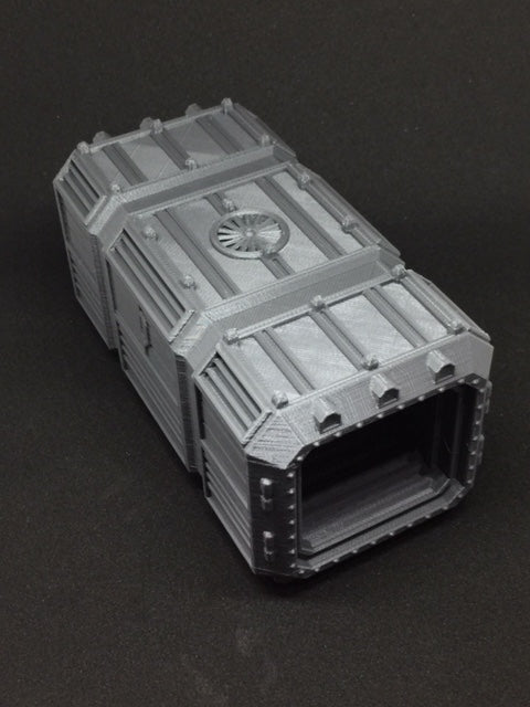 6mm Orbital Shipping Container Open