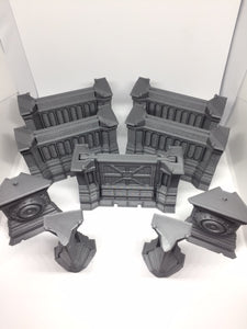 Combat Zone Wall bulk buy set
