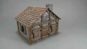 Raven's Hollow Small Stone House