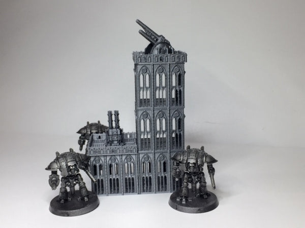6mm Medium Gun tower