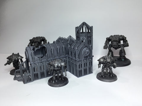 6mm RUNE CHURCH SET