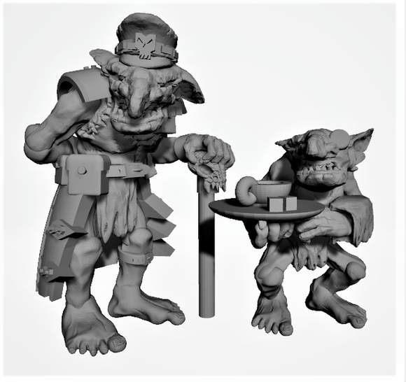 Goblin Komanda - OTP Terrain & Miniatures Off The Print Gaming
