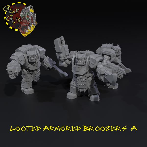 Looted Armored Broozers x3 - A