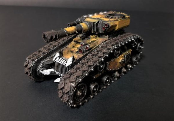 Looted Tank - OTP Terrain & Miniatures Off The Print Gaming
