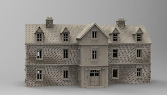Manor or Schoolhouse - OTP Terrain & Miniatures Off The Print Gaming
