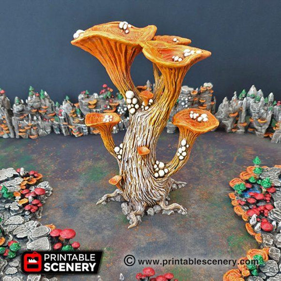 Blooming Lanterns - OTP Terrain & Miniatures Off The Print Gaming