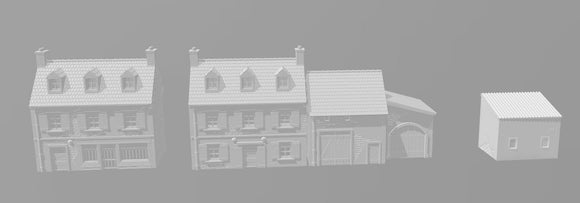 Rural Building Set
