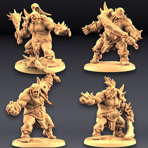 Ogre Marauders - 4 Units Set