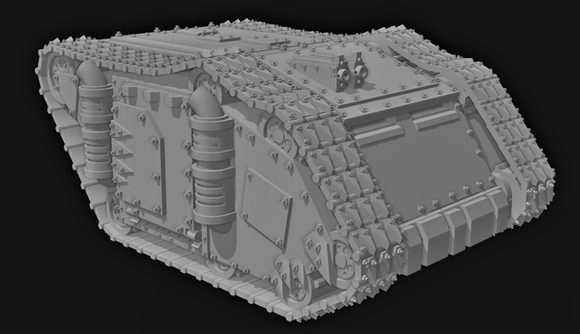 Crusader Barge - OTP Terrain & Miniatures Off The Print Gaming