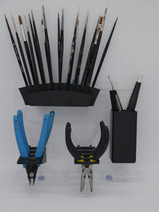 Peg Board & Hobby Tool Holder Set