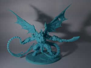Baalzrodan the Demon King Epic Boss with 65mm Foot to Eye Height