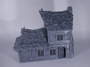 2 Story House V3.5  Thatched Roof