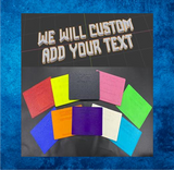 CUSTOM STANDARD (YOUR NAME & COLOUR)