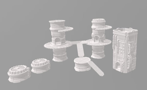 6mm Pipe Tower MEGA Set