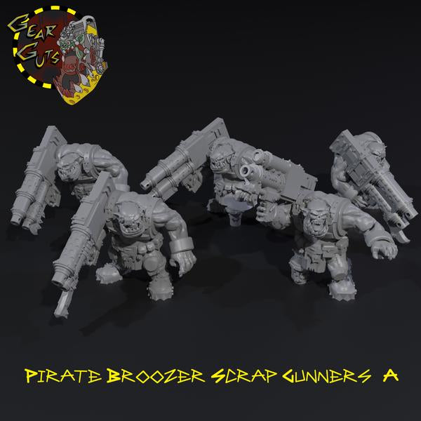 Pirate Broozer Scrap Gunners x5 - A