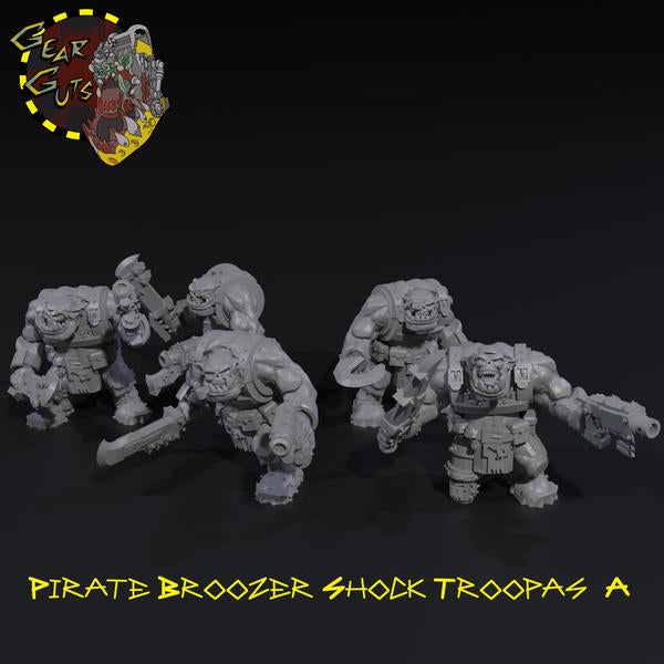 Pirate Broozer Shock Troopas x5 - A