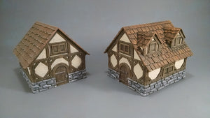 Ravens Hollow 2 Building Multi Roof Set
