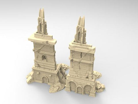 Ruined Modular Towers Set or Individual