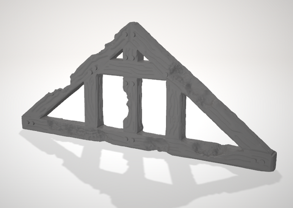Set of 20 Ulvheim Roof Truss's-[40KTerrain]-[Fantasyterrain]-[3DPrintedTerrain]-[Wargaming]-[Tabletopgaming]-OTP Terrain Off The Print Gaming
