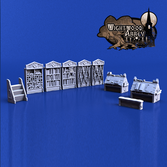 Wightwood Abbey Scriptorium Furniture Pack